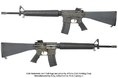 M 16 A3 king arms